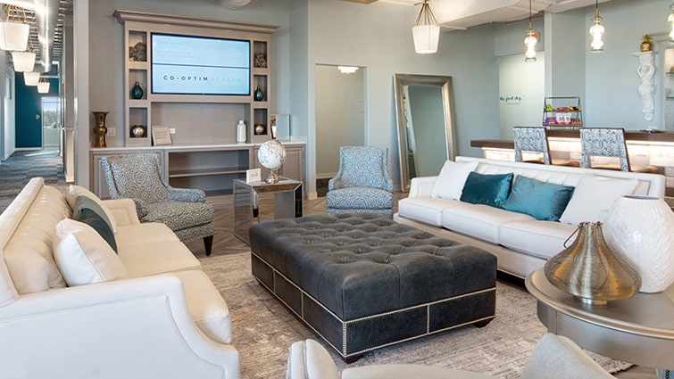 beautiful lounge space